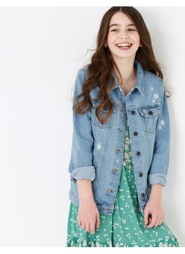 Marks & Spencer Ceket Mavi